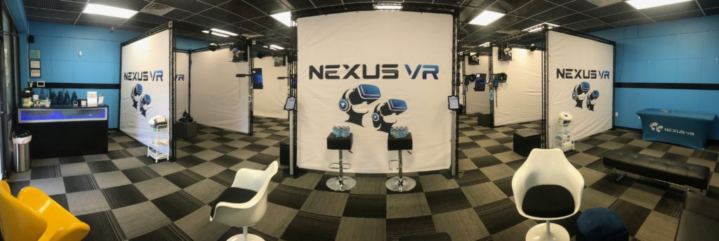 NexusVR, an Atlanta VR Arcade in Duluth, GA.